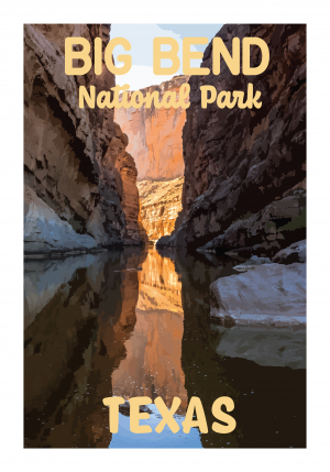 Big Bend National Park Poster