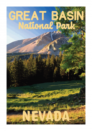 Great Basin National Park Poster