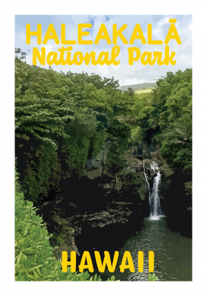 Halekala National Park Poster